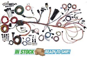 64 67 Chevy Chevelle Classic Update American Autowire Wiring Harness Kit 500981