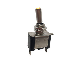Marine Boat Automotive Car 12v 20a Red Dot Led Toggle Switch Control Spst On off