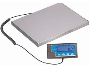 Brecknell Lps400 Portable Digital Shipping Scale 400 Lb X 0 2 Lb plate 15 x12