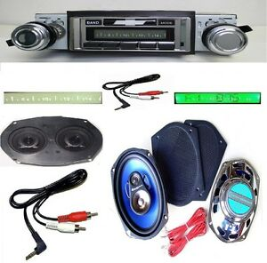 67 68 Impala Caprice Radio Stereo Dash Replacement Speaker 6x9 s 230 W Ac