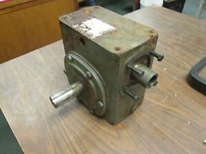 Boston Gear Reducer 726 10 b7 g Ratio 10 1 3 63 Hp In 1181 In lb Torque Out Used