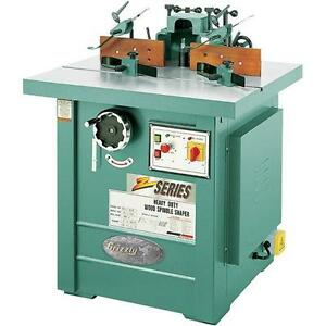 G7214z Grizzly 7 1 2 Hp 3 phase Spindle Shaper