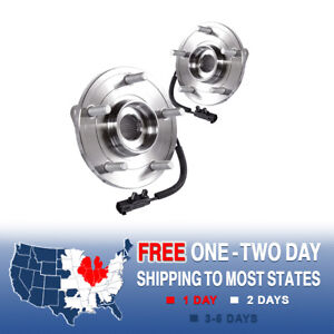 2 Front Wheel And Hub Bearing Assembly For Town Country Grand Caravan Routan