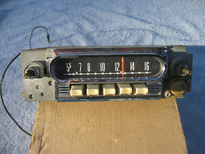 1960 1961 1962 1963 Mercury Script Am Radio