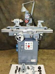 Cincinnati 2 Tool Cutter grinder 6 X 36 10 Swing 16 X 8 Travels Good