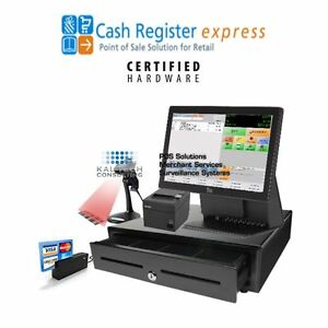 Pcamerica Cre New Retail Point Of Sale Pos System All In One Touchscreen Pro
