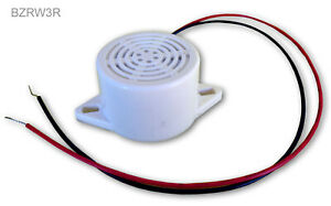 Buzzer Round 2 6 Volts pack Of 10 Buzzers
