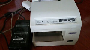 Epson Tm u375 Pos Slip Dot Matrix Receipt Printer Serial Interface
