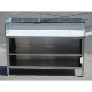 Custom Cutting Table With Glass Guard 24 X 60 Excellent Condition