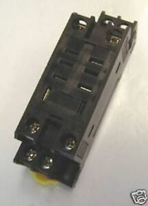 Relay Socket 8 Pin Blade For Tyco Sret Ptf08ae Touch Safe Lot Of 20 New