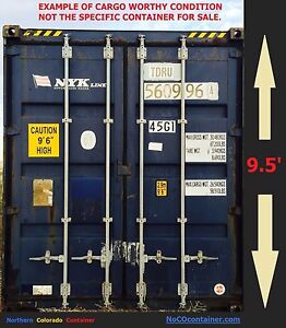 40 Foot High Cube Cargo Worthy Storage Freight Container Co wy Delivery