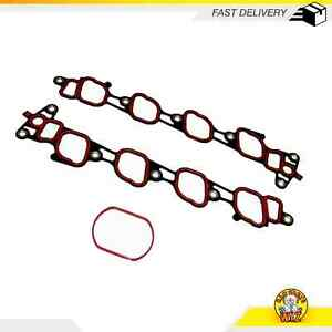 Intake Manifold Gasket Set Fits 01 04 Ford Lincoln Crown Victoria 4 6l Sohc