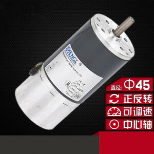 Brushless Dc Motor Speed Motor Bldc 45sr s Built in Driver 12v 24v 45mm Line 6