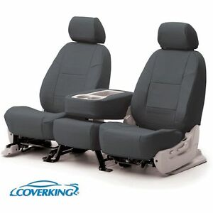 Coverking Seat Cover Front New Gmc Sierra 1500 Truck 2008 2009 Csc1l3gm8446