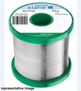 Alpha Metals Solder Sn96 Ag04 Smt No clean 020 Clearance