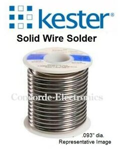 Kester Solid Wire Solder 14 6337 0015 Sn63pb37 015 1 lb