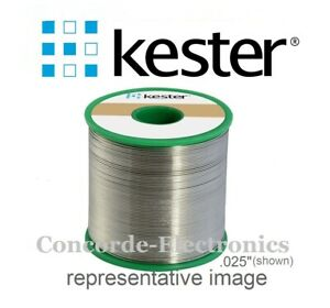 Kester Lead Free Solder 24 7068 7603 Sac305 275 no clean Flux 020 2