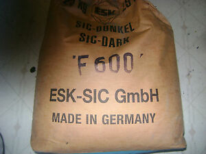 Silicon Carbide 25 Lb F600 Made In Germany Esk