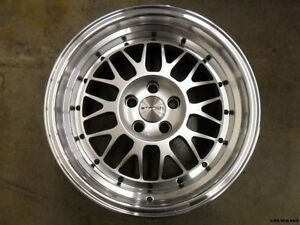 Stance Mindset 16x8 4x114 3 20 Silver Set Of 4 Wheels rims