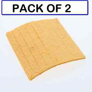 pack Of 2 Weller Tc205 Solder Cleaning Sponge For Ph Series Stands