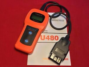 Code Reader Tool U480 Obd2 Obdii Eobd Check Engine Can bus Auto Scanner Trouble