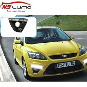 Car Accessories Led Daytime Running Lights Drl For Ford Focus 2009 2010 2011 Fog