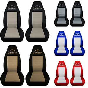 Afcc Front Car Seat Covers Combo Colors Fits 1982 2002 Chevrolet Camaro