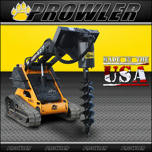 Prowler Extreme Duty Mini Skid Steer Auger Drive With 9 Inch Round Collar Bit