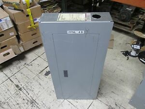 Siemens Double Main Breaker Circuit Breaker Panel S1c42qj200cbs 208y 120v 3ph 4w