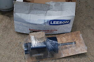 Leeson 1 5 Hp Electric Motor 1 Ph 115 V 1725 1425 Rpm 56y Frame C6k17dk4a Cat No