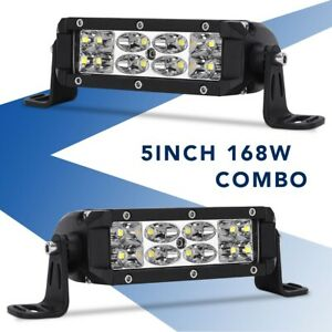 42inch 400w Curved Led Work Light Bar Flood Spot Offroad Lamp F1 42 40