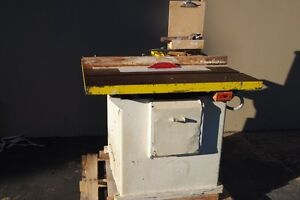 Tannewitz Table Saw Type Xj woodworking Machinery
