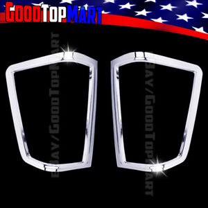 For Nissan Titan 2004 2010 2011 2012 2013 2014 Chrome Tail Light Covers Outline