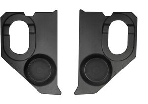 1960 1966 Chevy Gm Truck Kick Panels with Speakers Installed