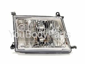 Headlight Right For Toyota Land Cruiser 100 2000 2002 2003 2005 Manual Control