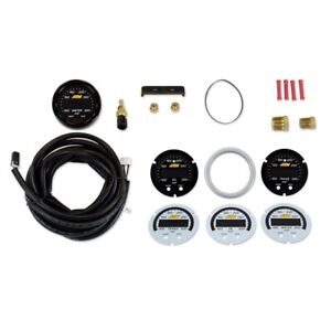 Aem X series Digital Water oil trans Temp Display Gauge Kit 30 0302 300f 150c