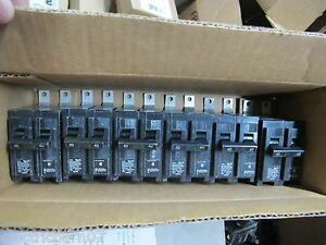 Siemens B240 40 Amp 2 Pole 240 Volt Box Of 6 Circuit Breaker New Take Out