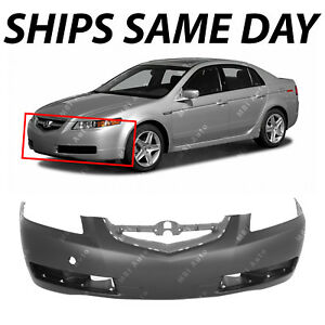 New Primered Front Bumper Cover Fascia Replacement For 2004 2006 Acura Tl