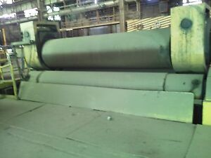 Bertsch Model 34 Pyramid Plate Bending Rolls For Up To 12 Thick Material