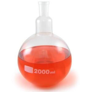 Nc 13326 Single Neck Flat Bottom Round Boiling Flask 24 40 Join