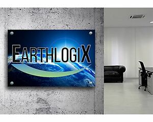 Acrylic Custom Sign Size 20 X 30 Full Color Your Logo Or Message Outdoor Sign