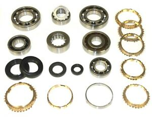 Honda Civic Slw 5 Speed Manual Trans Premium Rebuild Kit Bearing Kit Bk499ws