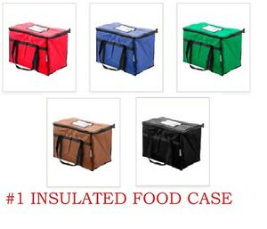 1 Rated Industrial Food Delivery Bag Chafer Pan Carrier Choice Colors rebate