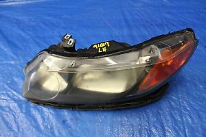 2008 08 Honda Civic Si Sedan Fa5 Oem Factory Lh Driver Headlight K20z3 9167