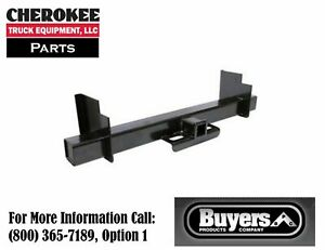 Buyers Products 1801052 Class 5 Universal 2 1 2 Service Body Hitch Receiver