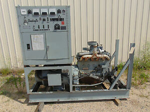 Hollingsworth Generator Plant 37 5 Kva With Hercules D340 Engine