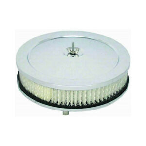Rpc Air Cleaner Assembly R2282 Muscle Car Chrome Steel Round 10 000 2 000