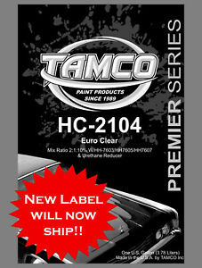 Hc 2104 Euro Clear 2 1 10 54 Solids Clear Compare To Glasurit Spies