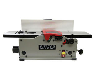 Cutech 40160h ct 6 Bench Top Spiral Cutterhead Jointer