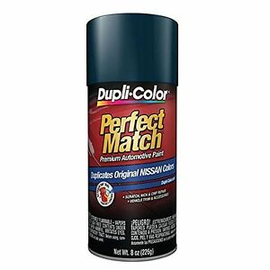 Duplicolor Bns0606 For Nissan Code Bw9 Majestic Blue 8 Oz Aerosol Spray Paint